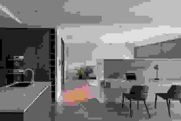 書桌 根據 極簡室內設計 Simple Design Studio 現代風