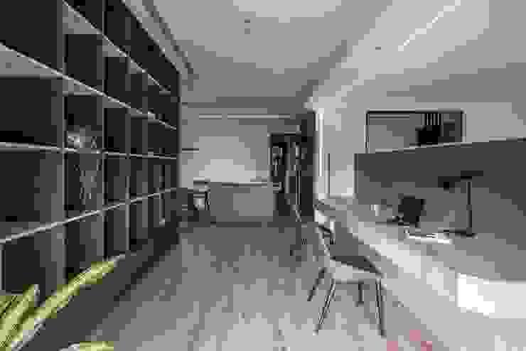 開放式書房 根據 極簡室內設計 Simple Design Studio 現代風