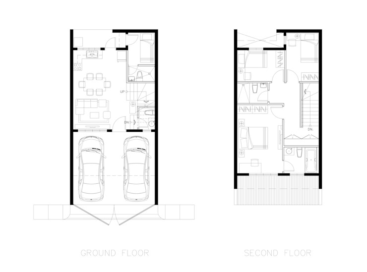 Plans: modern  by Archvisuals Design + Contracts, Modern
