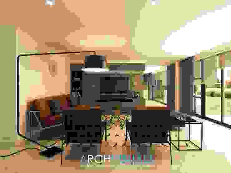 B Architectural Interiors Archvisuals Design + Contracts Living room