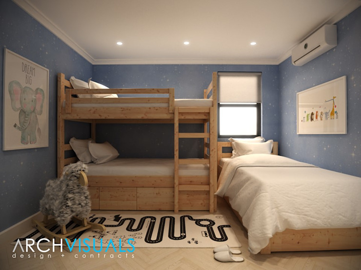 B Architectural Interiors Archvisuals Design + Contracts Classic style bedroom