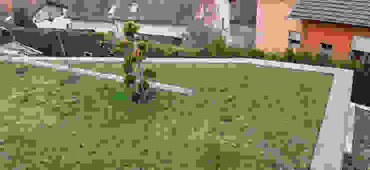 Garten vorher von Edelstahl Atelier Crouse: Asiatisch