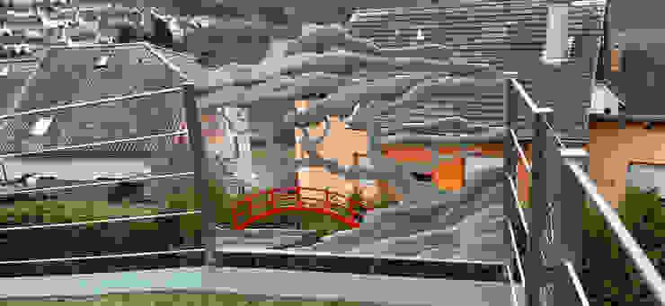 Japanese Garten von Edelstahl Atelier Crouse: Asiatisch