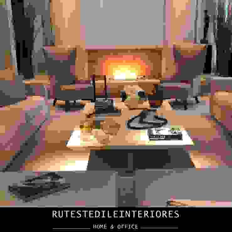 RUTE STEDILE INTERIORES Modern Living Room