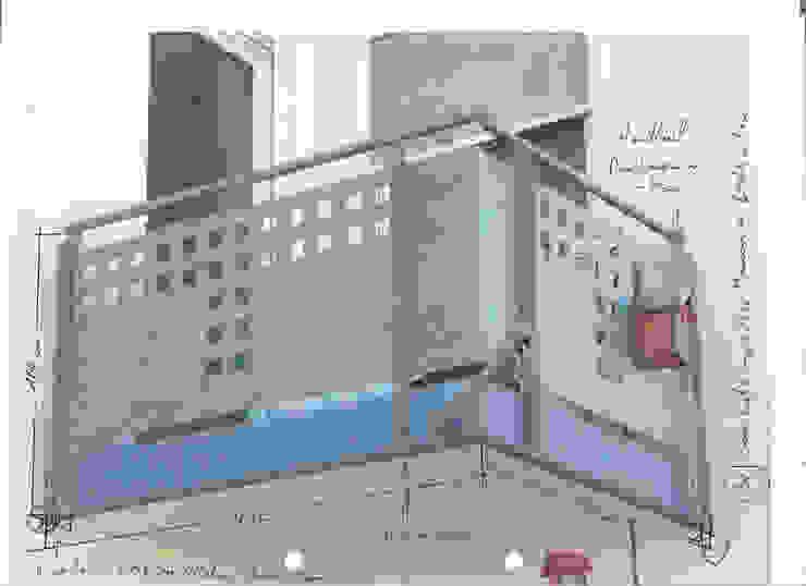 Vorher Edelstahl Atelier Crouse: Balkon