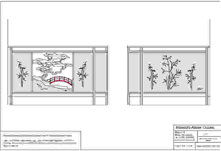 Planung Edelstahl Atelier Crouse: Balkon