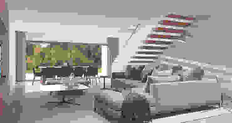 Zona de estar , cinema Salas de estar modernas por Alpha Details Moderno