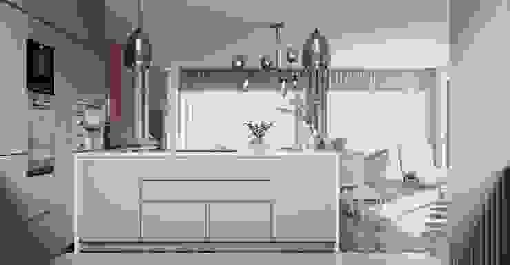 zona cozinha por Alpha Details Moderno