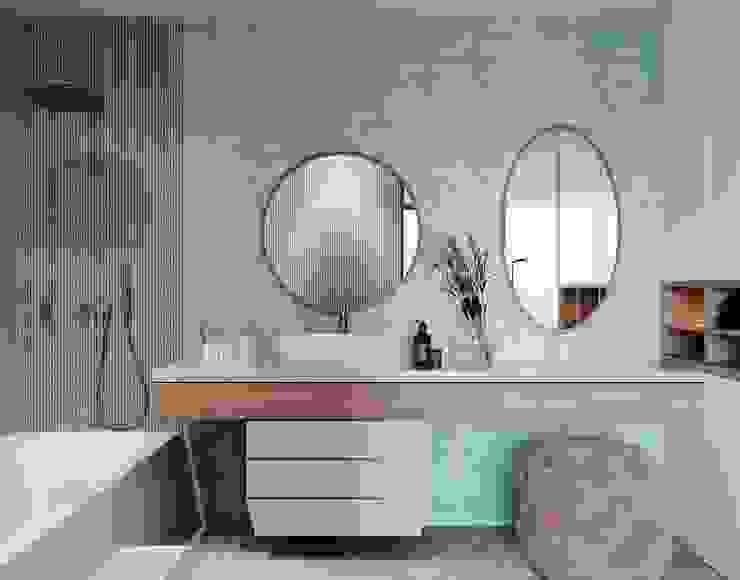 Instalação Sanitária Quarto Menina Casas de banho modernas por Alpha Details Moderno