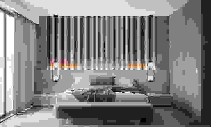 suite principal Quartos modernos por Alpha Details Moderno