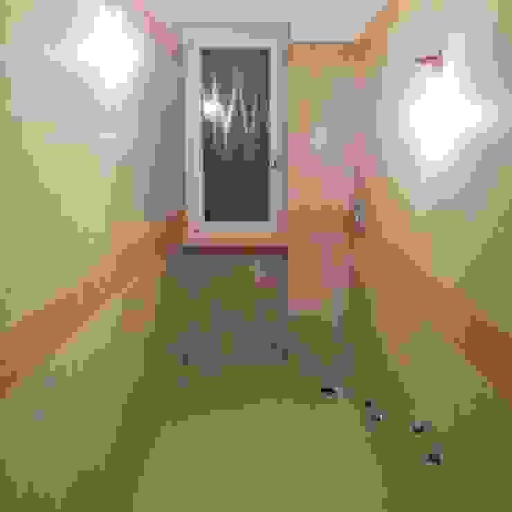 Quintarelli Roberto Pietre 現代浴室設計點子、靈感&圖片 石器 Beige