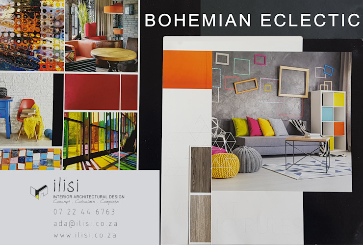 Bohemian Eclectic / Bohemian Shick by ilisi Interior Architectural Design