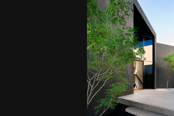 Wright Architects Single family home Concrete Black
