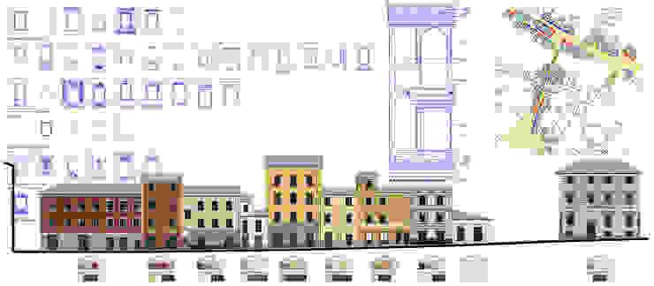 Progetto del colore di Cicagna (Ge) di Alessio Costanzo Architetto