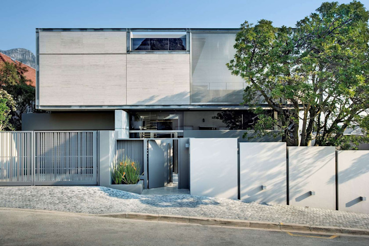 Wright Architects Detached home Concrete Grey