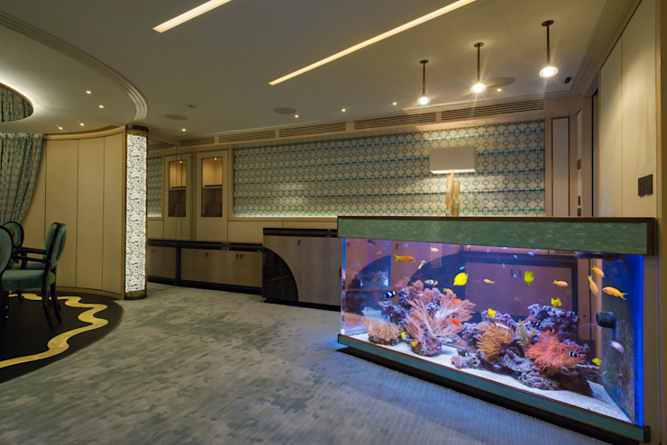 por MELIK LUXURY Aquarium Eclético
