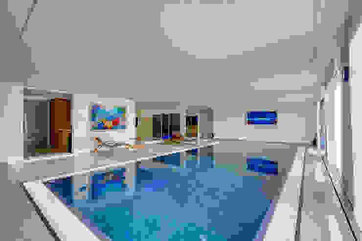 Portfolio interni - architettura Pixelmakers - Paolo Soave Piscina moderna