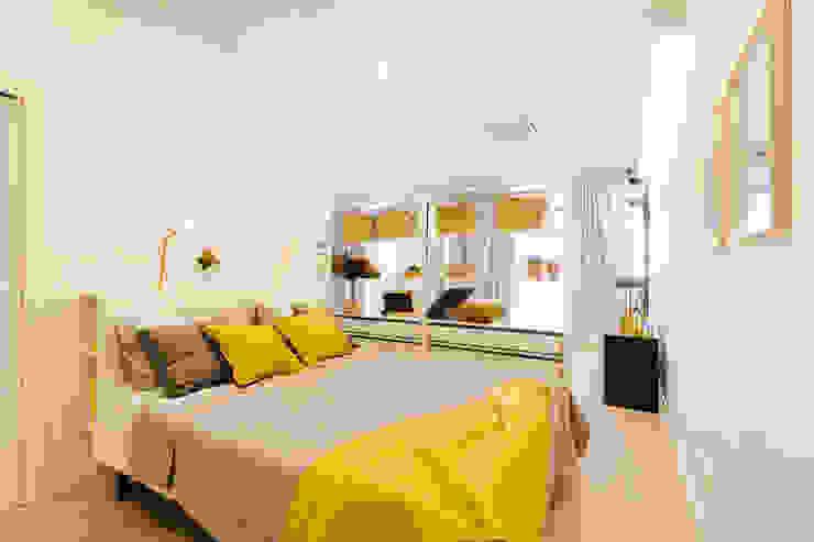 AccaEsse Quartos modernos Madeira Amarelo