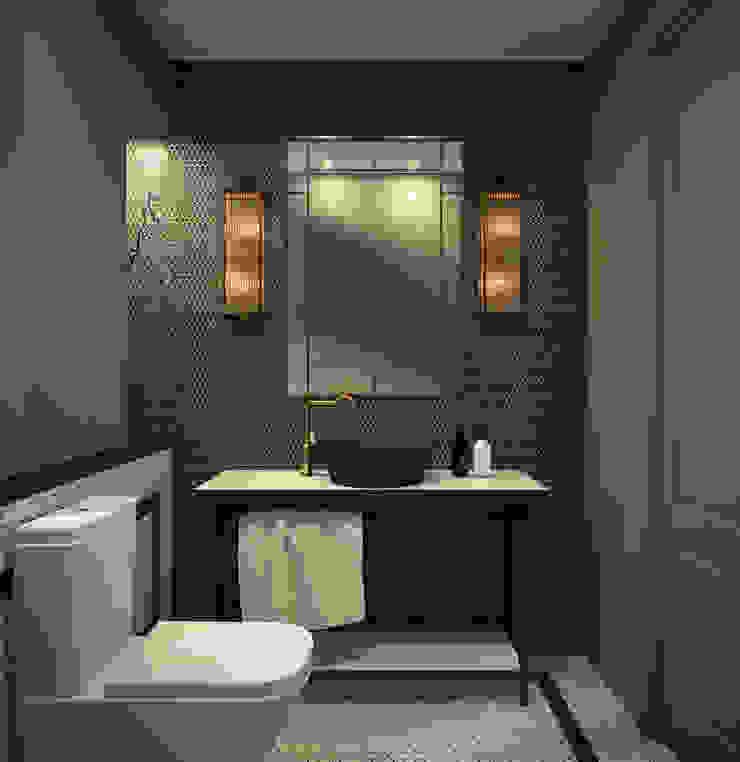 Baño cortesía DyD Interiorismo - Chelo Alcañíz Baños de estilo clásico Contrachapado Verde