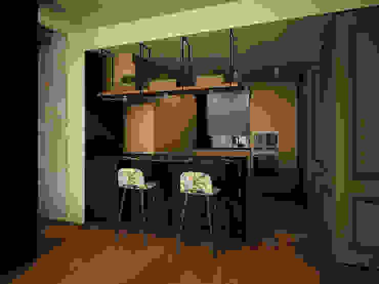 Cocina DyD Interiorismo - Chelo Alcañíz Cocinas de estilo clásico Derivados de madera Verde