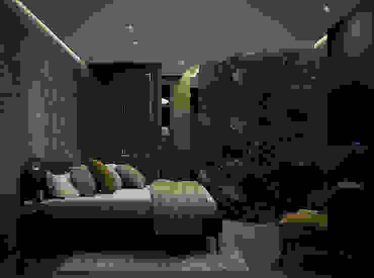 Domitorio DyD Interiorismo - Chelo Alcañíz Cuartos de estilo clásico Compuestos de madera y plástico Verde