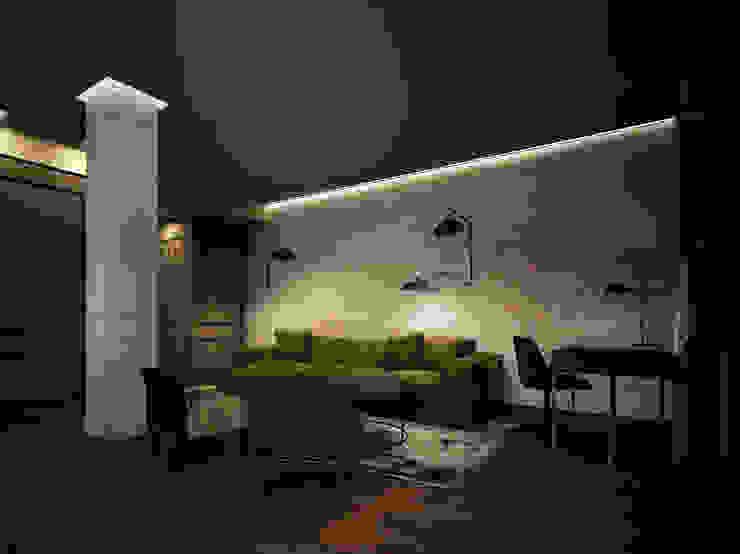 Salón con sofá DyD Interiorismo - Chelo Alcañíz Salas de estilo clásico Contrachapado Verde