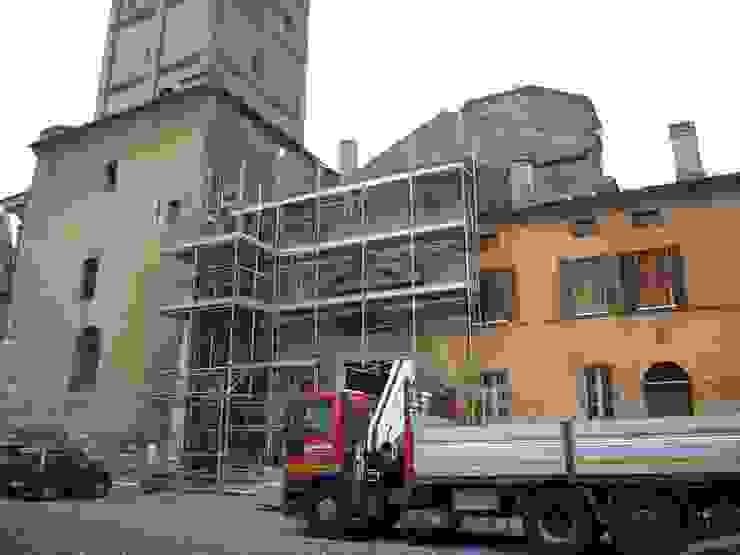 Restauro della copertura del transetto del Duomo di Mantova di Studio di Architettura IATTONI