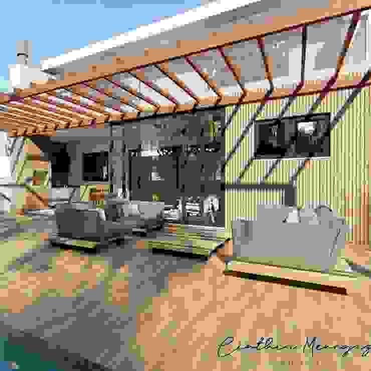 RESIDENCIA AC por Cinthia Menegaz Arquitetura Moderno