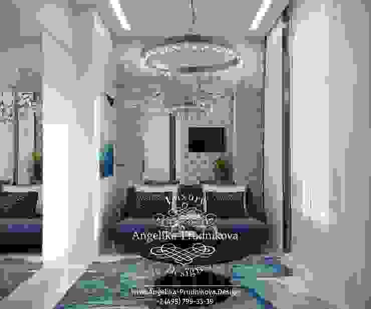 에클레틱 거실 by Дизайн-студия элитных интерьеров Анжелики Прудниковой 에클레틱 (Eclectic)