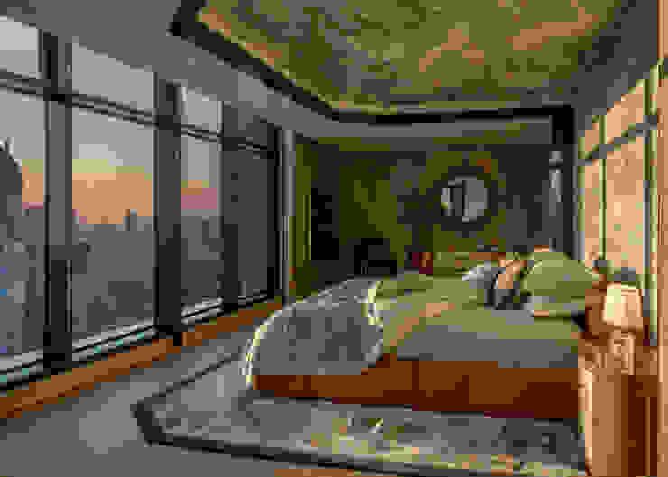 Penthouse Bedroom Design Design Intervention Modern style bedroom