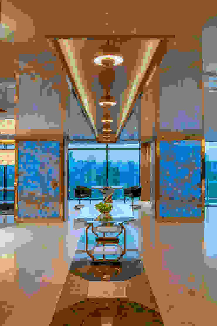 Dining Nook Design Design Intervention Modern corridor, hallway & stairs