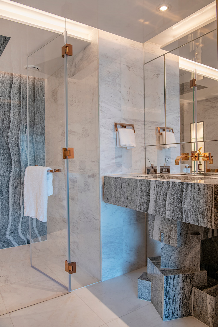 Cambria Stone Vanity Design Design Intervention Modern bathroom