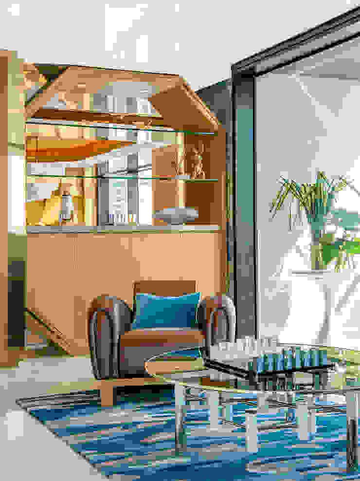 Modern Living Room Seating Area Decor Design Intervention Modern living room