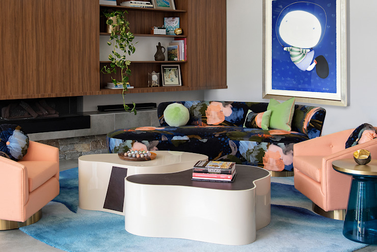 Ruang Keluarga Modern Oleh Design Intervention Modern
