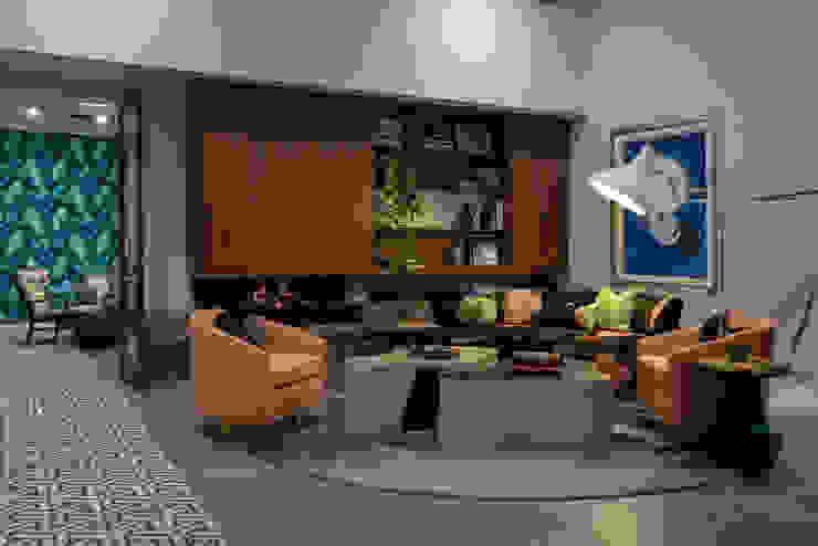 Retro Vibe Living Room Design Intervention Modern living room