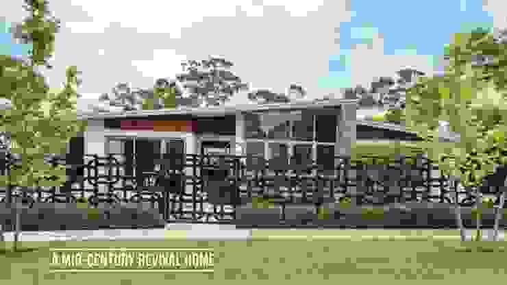 Mid-century Revival Home Design Intervention Modern houses