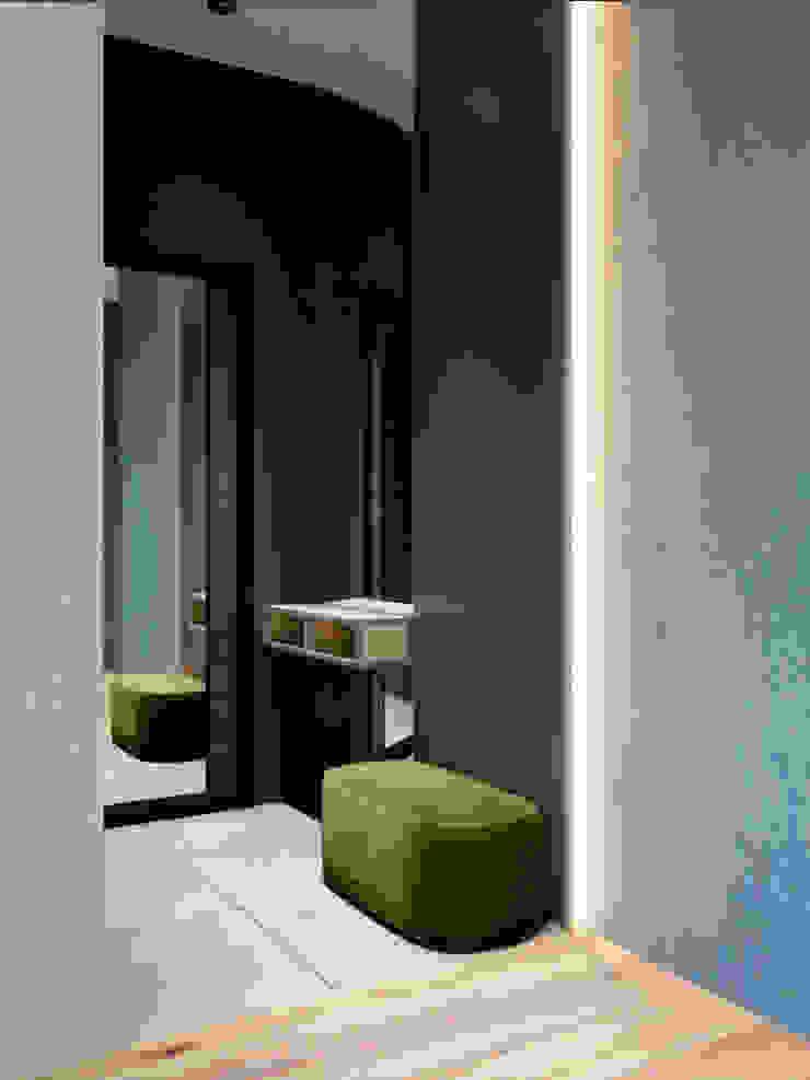 ทางเดินในสไตล์อุตสาหกรรมห้องโถงและบันได โดย Interior designers Pavel and Svetlana Alekseeva อินดัสเตรียล