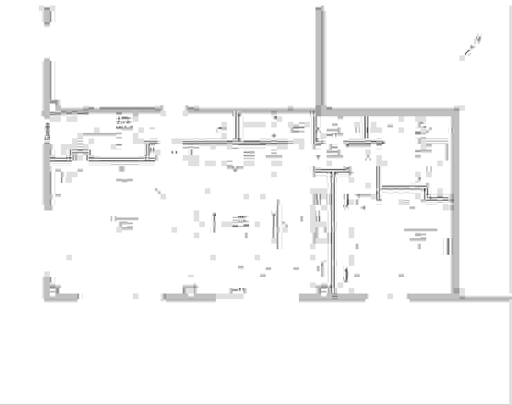 PLAN RDC Salle à manger moderne par Lionel CERTIER - Architecture d'intérieur Moderne