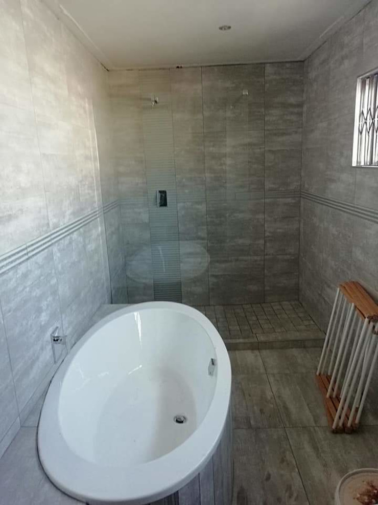 bathroom Modern bathroom by Decor Revamps Wall and Ceiling Coating Pty Ltd Modern