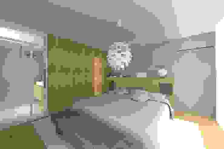 Lionel CERTIER - Architecture d'intérieur Camera da letto moderna