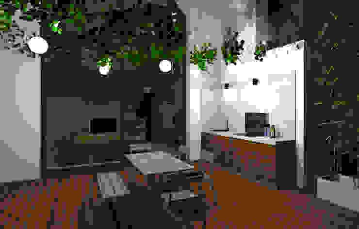 Lionel CERTIER - Architecture d'intérieur Balcone, Veranda & Terrazza in stile moderno