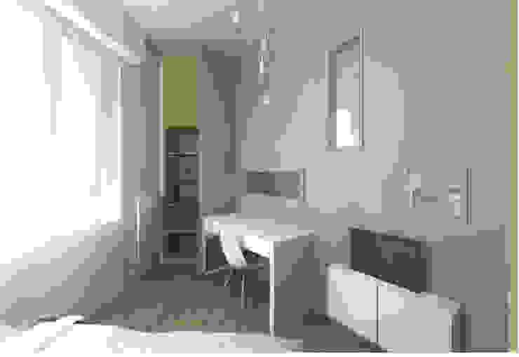 Lionel CERTIER - Architecture d'intérieur Dormitorios de estilo moderno