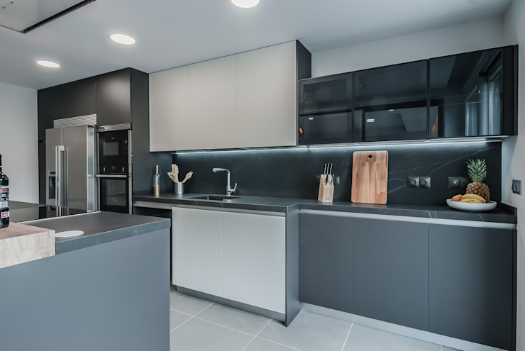 Simetrika Rehabilitación Integral Built-in kitchens