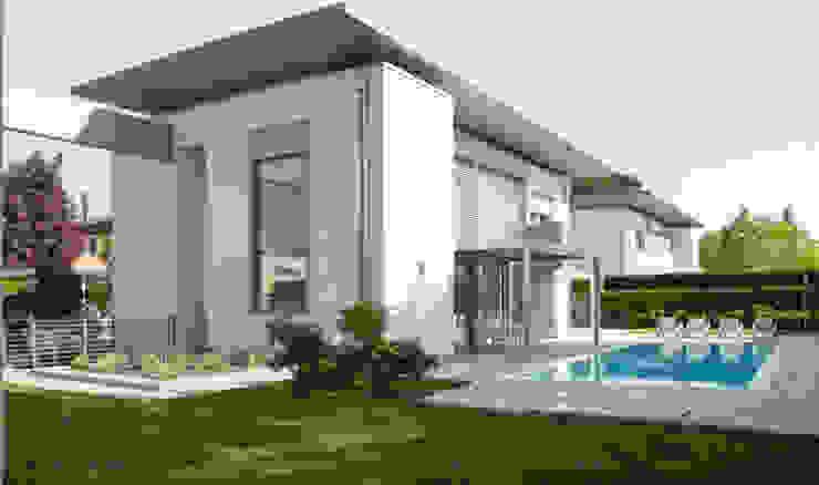 PROGETTI VARI Giardino moderno di driusso associati Moderno