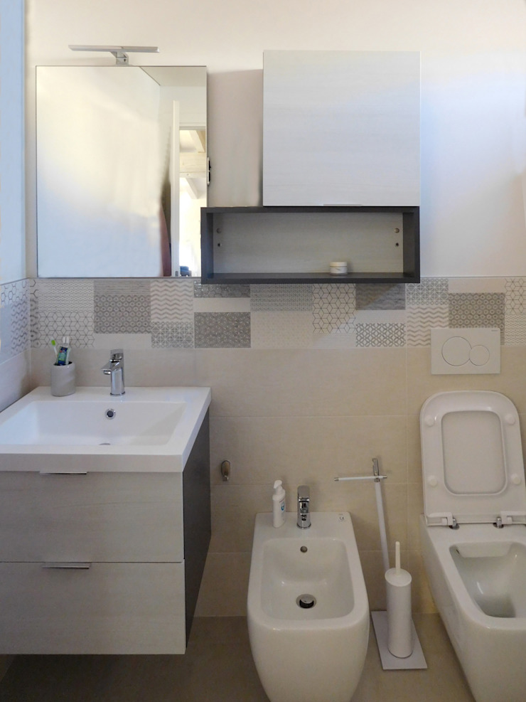 Studio di Architettura IATTONI Minimalist style bathroom