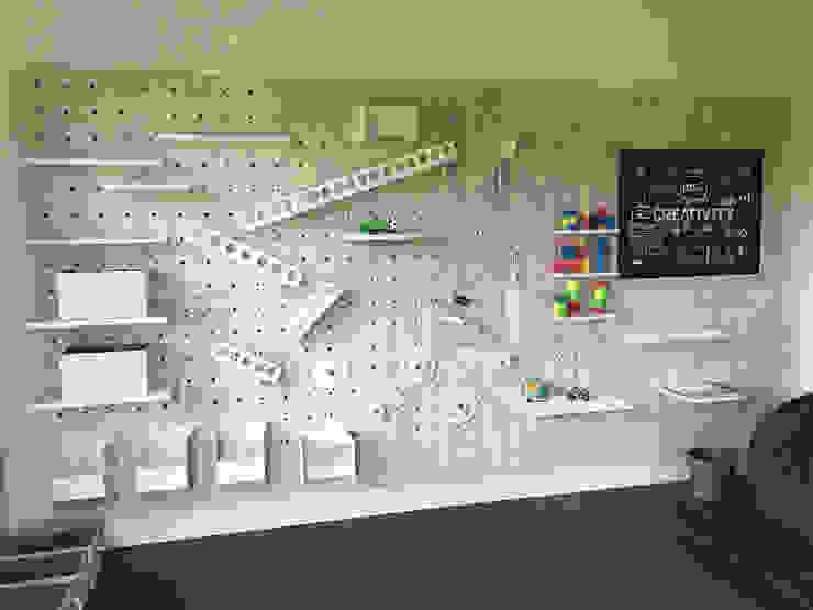 Kids Stem Play (myWall) Adaptiv DC Nursery/kid's roomStorage Wood White