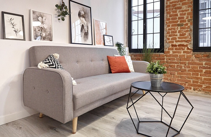 Small Apartment Renovation The White Interior Design Studio Living room