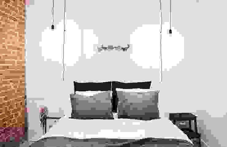 The White Interior Design Studio Kamar Tidur Gaya Industrial