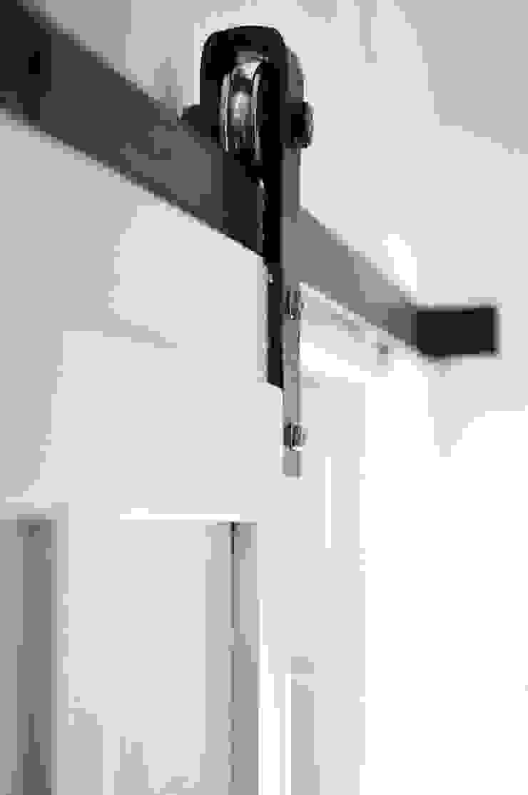 Small Apartment Renovation The White Interior Design Studio Sliding doors