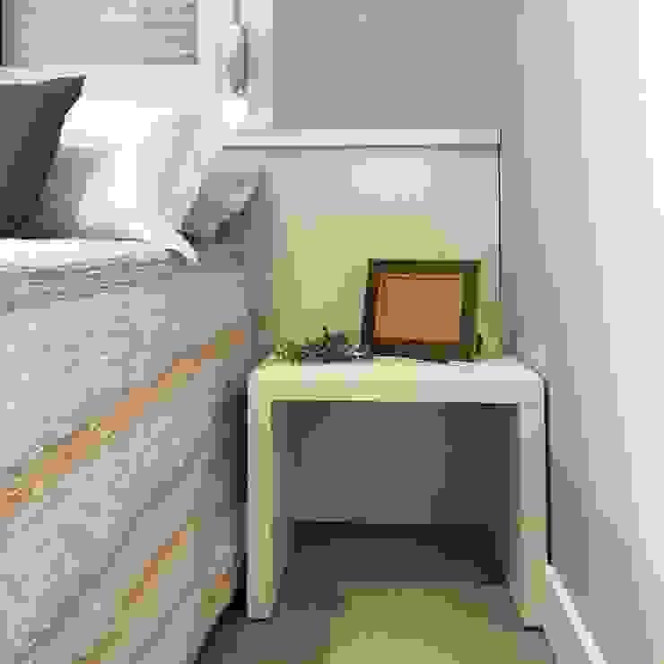 Rabisco Arquitetura Modern style bedroom MDF Grey